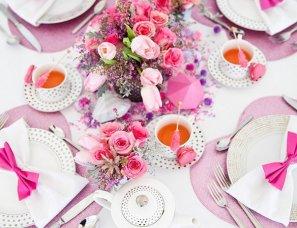 Идея для гламурного девичника для стильных невест из рубрики Идеи