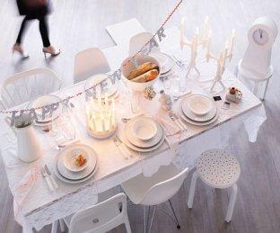 Новогодняя сервировка стола — Цветовые гаммы. Обсуждение на