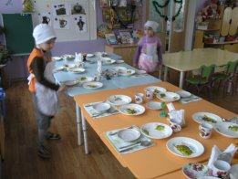 Режимные моменты. «Сервировка стола». Воспитателям детских садов