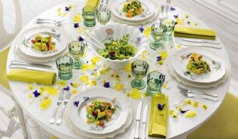 Сервировка праздничного стола - фото примеров