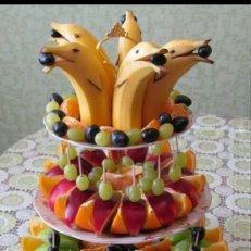 Сервировка стола фруктами в домашних условиях фото – Ekolini.ru