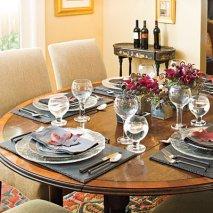 Сервировка стола к ужину. Общие правила