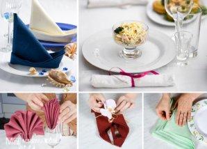 Сервировка стола — Столовое белье / Этикет за столом / Блоги