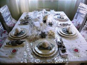 Сервировка стола в домашних условиях салфетки фото — Твои вещи