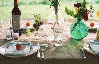 Восхитительная летняя сервировка стола 40 Фото