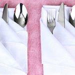 Варианты Сервировки Стола Бумажными Салфетками